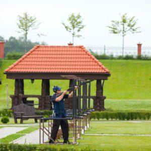Стендовая стрельба в загородном отеле ГРУМАНТ Resort & SPA, недалеко от Москвы, Тула, д. Грумант