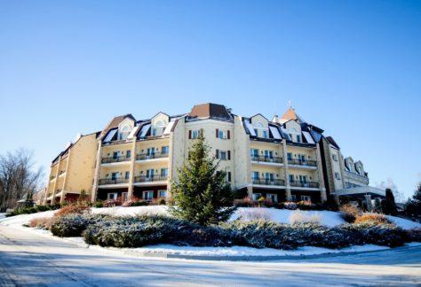Отель ГРУМАНТ Resort & SPA - зима