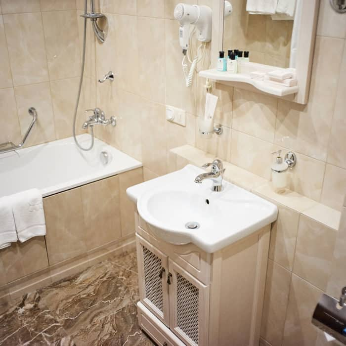 Номер Стандарт Плюс / Standart Plus в отеле ГРУМАНТ Resort & SPA