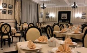 Ресторан в загородном отеле ГРУМАНТ Resort & SPA, недалеко от Москвы, Тула, д. Грумант
