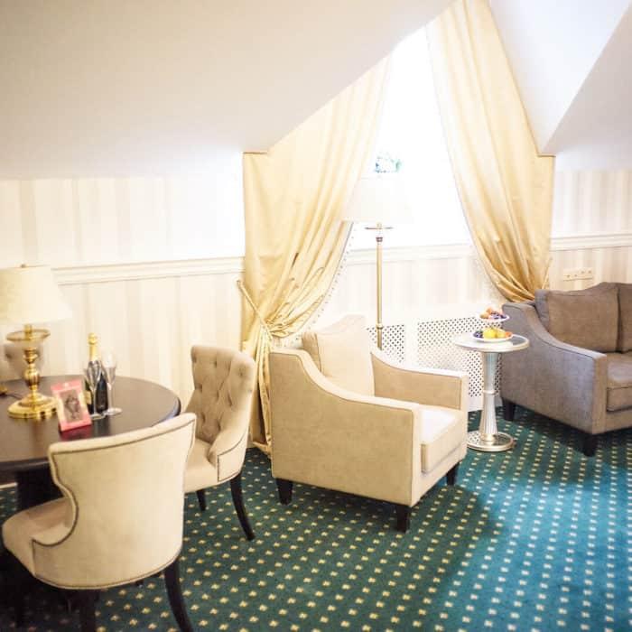 VIP-апартаменты в загородном отеле ГРУМАНТ Resort & SPA