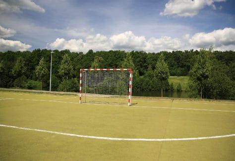 На территории отеля ГРУМАНТ Resort & SPA находятся 2 футбольных поля