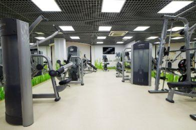 Тренажерный зал в отеле ГРУМАНТ Resort & SPA