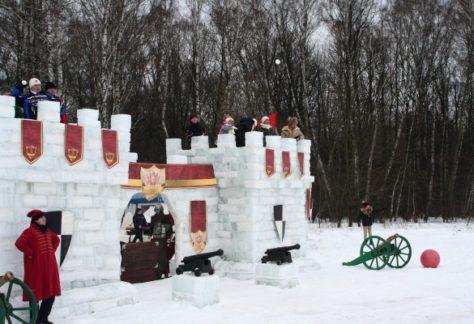 Приключение «Снежный городок» в отеле ГРУМАНТ Resort & SPA